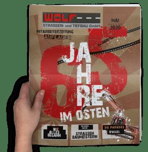 65 Jahre Wolf Straßenbau